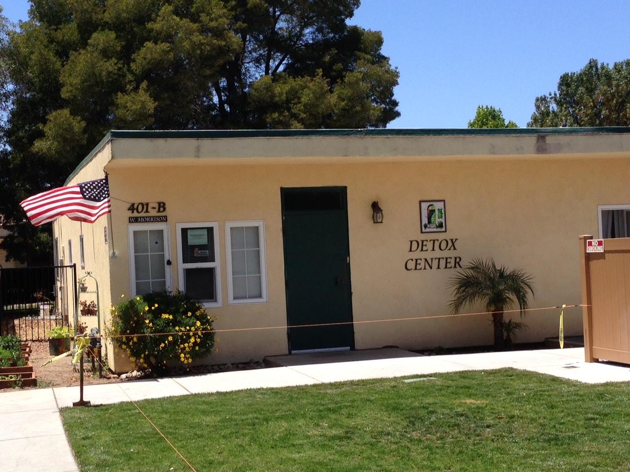Santa Maria Detox Center outside