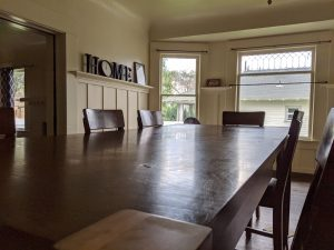 Marks house dining room